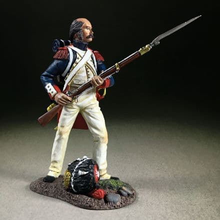 """WB36188 - """"Near Miss!"""" French Imperial Guard Standing Defending"""