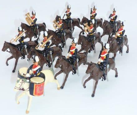 WB40191 9th Lancers Mounted Band