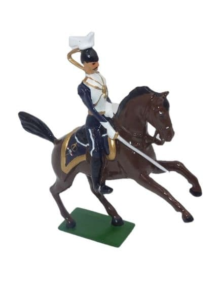 WB40196 - 17th Lancers Officer on Rearing Horse