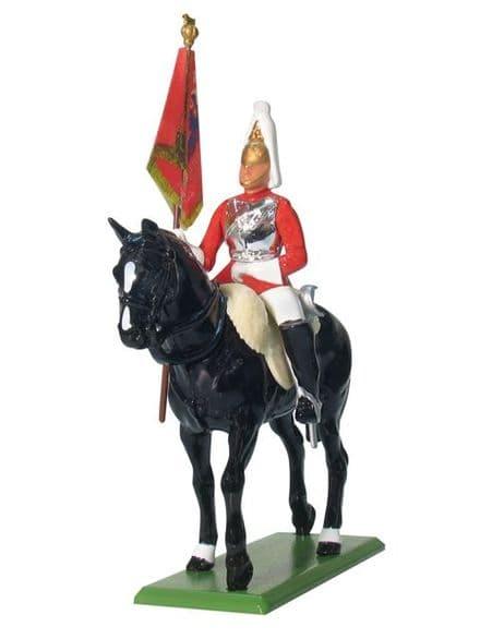 WB41076 Life Guard Standard Bearer Mounted