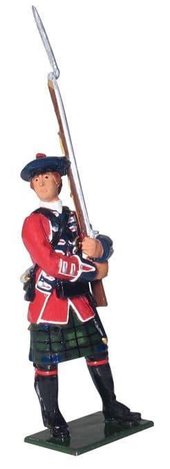 WB43011 British Highlander, 42nd Regiment, Light Company, 1754-1763