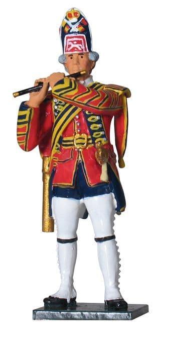 WB43018 British Fifer, 1st Foot Guards, 1754-1763