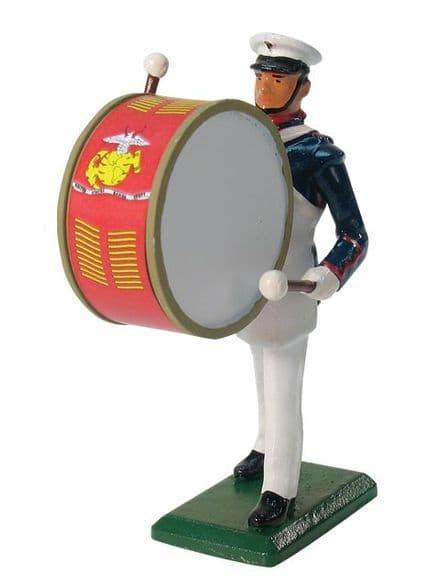 WB43033 USMC Bass Drummer