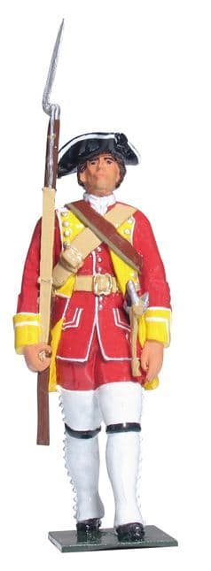 WB43146 - British Private, 15th Regiment of Foot, 1754-1763