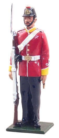 WB44016 - Private, 16th Regiment of Foot, 1868