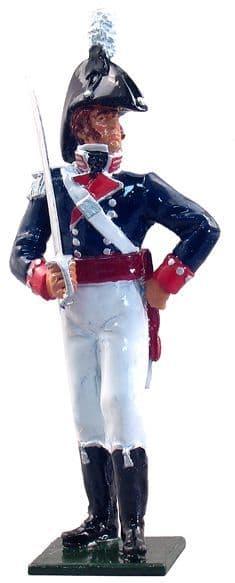 WB46002 - Officer, U.S. Infantry, 1812-1815