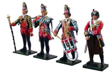 WB47008 - British 45th Regiment Command Set No.1, 1754-1763