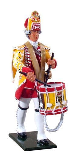 WB47012 - British Drummer, 15th Regiment of Foot, 1754-1763 (Special Offer)