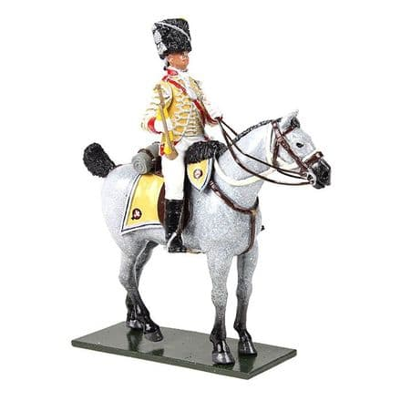 WB47059 - British 10th Light Dragoons Trumpeter Mounted, 1795