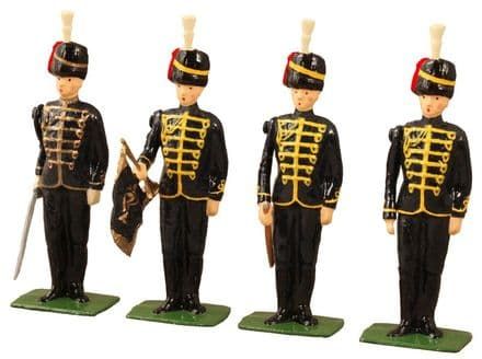 WB49011 British 7th Hussars  4 Piece Set in Vintage Box Limited Edition