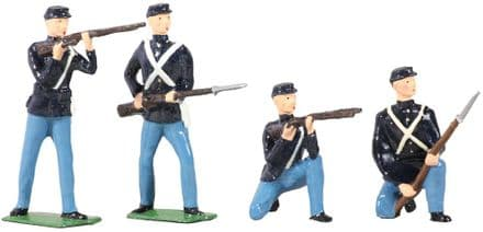 WB49027 American Civil War Union Infantry Set