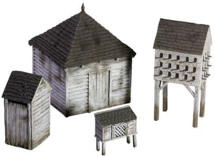 WB51038 19th Century American Farm Outbuilding