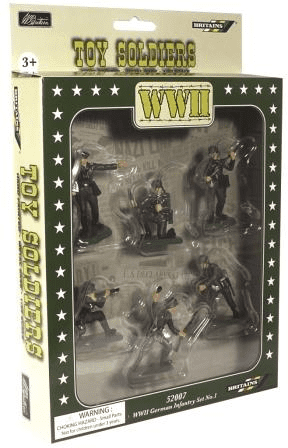 WB52007 William Britains Super Deetail WW11 German Infantry Plastics