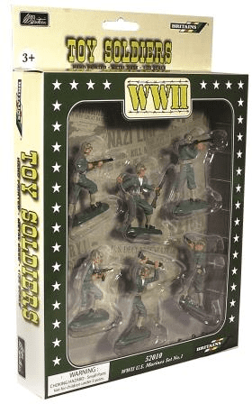 WB52010 William Britains Super Deetail WW11 U.S. Marines Plastics