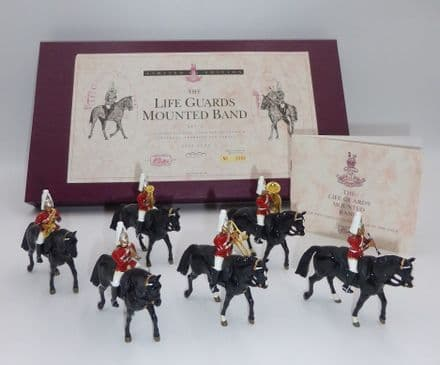 WB5295 The Life Guards Mounted Band