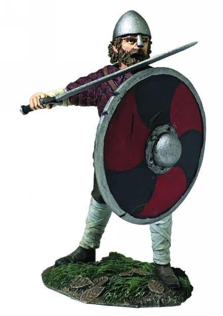 WB62120 Saxon Pushing with Shield