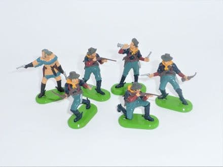 WB7513 Set of 6 Dismounted 7th Cavalry
