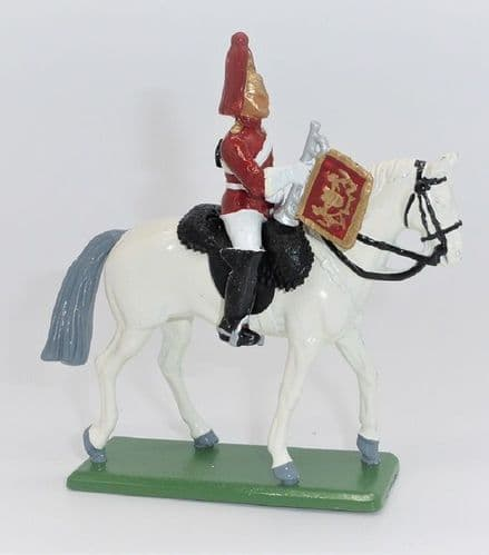 WB8033 Life Guard Trumpeter Mounted