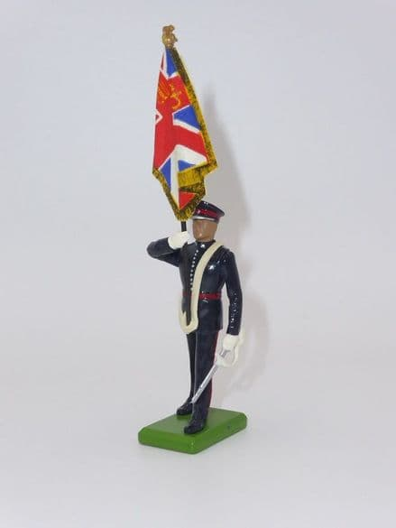 William Britain Cheshire Regiment Standard Bearer Kings Colour