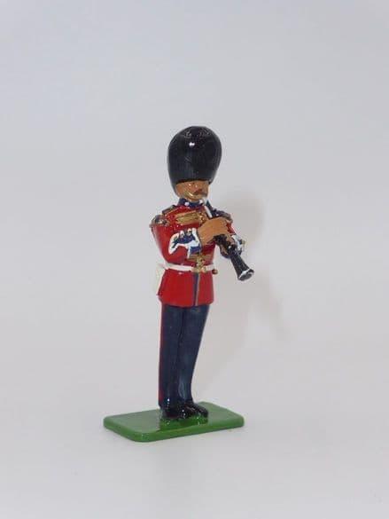 William Britain Clarinet Player Scots Guards