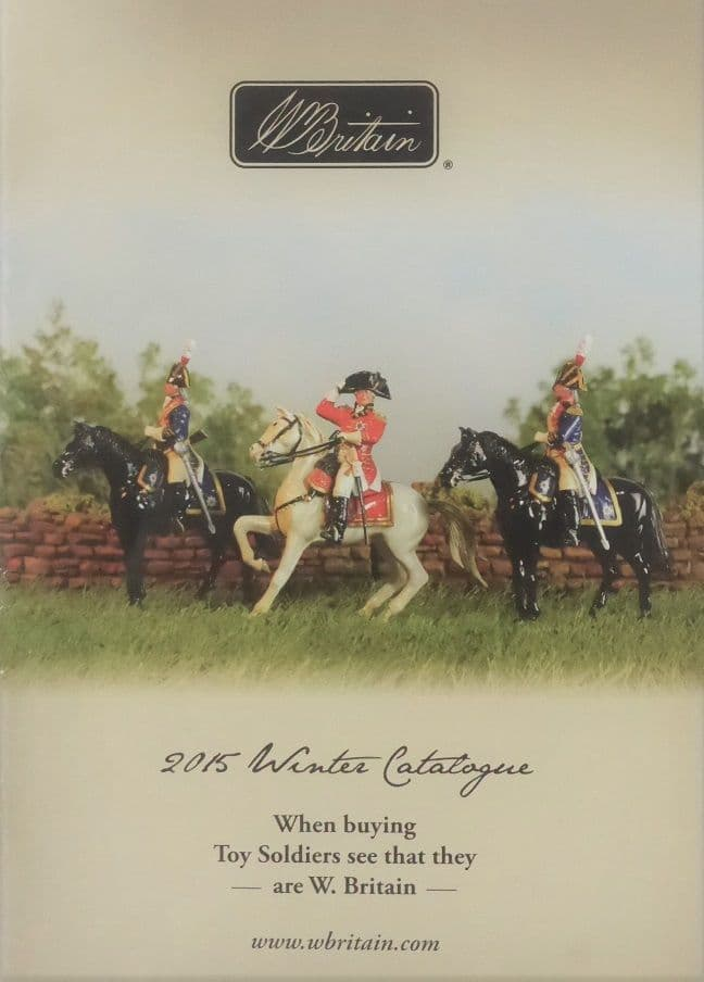 William Britain Winter Catalogue 2015