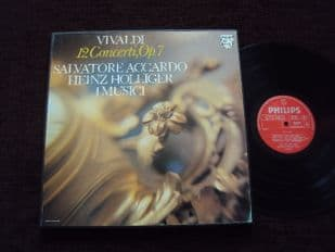 Accardo,Holliger.Vivaldi 12 Concerti.6700 100