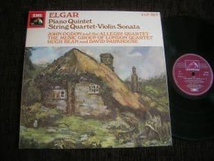 Allegri Qt,Bean,Ogdon.Elgar Chamber Works.SLS 5084