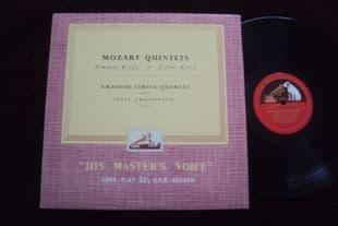 Amadeus Qt,Aranowitz.Mozart Qnts.ALP 1539