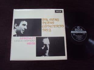 Ashkenazy,Mehta.Brahms Concerto No 2.SXL 6309