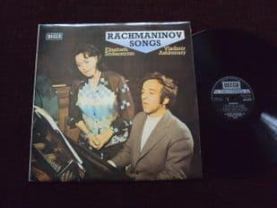 Ashkenazy,Soderstrom.Rachmaninov Songs.SXL 6718