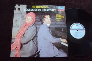 Ashkenazy,Soderstrom.Tchaikovsky Lieder.SXL 6972