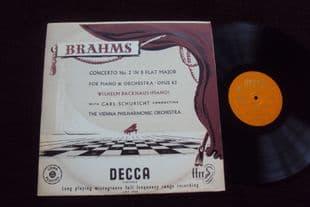 Backhaus,Schuricht.Brahms Concerto No 2.LXT 2723