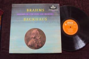 Backhaus,Schuricht.Brahms Concerto No 2.LXT 5365