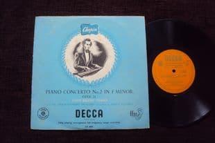 Ballon,Ansermet.Chopin Concerto No 1.LX 3035