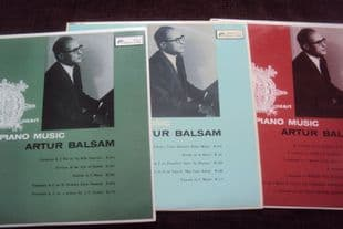 Balsam.Mozart  VOLS 2,3 & 9.OL 50193,92,OL 260