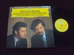 Barenboim,Zukerman.Brahms Sonatas.2530 806