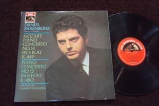 Barenboim.Mozart Concertos 14 & 15.ASD 2434