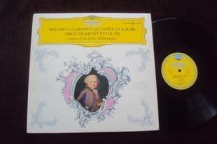 Berlin P O Soloists.Mozart Qnt.LPM 18996