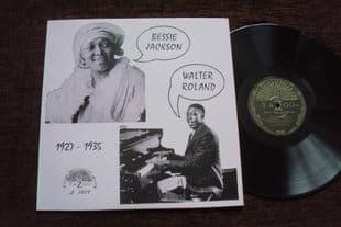 Bessie Jackson & Walter Roland.Yazoo L-1017