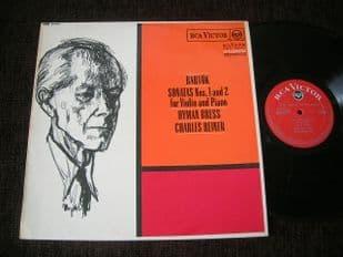 Bress,Reiner.Bartok Sonatas 1 & 2.SB 6650