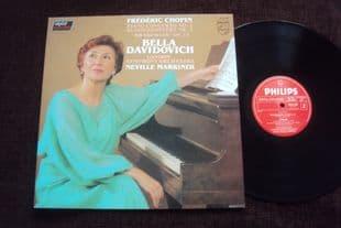 Davidovich,Marriner.Chopin Concerto No 2.6514 259
