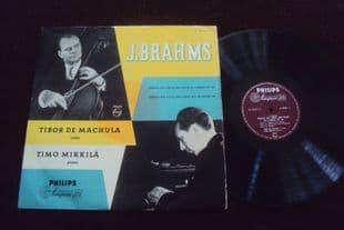 De Machula,Mikkila.Brahms Sonatas.A 00231 L