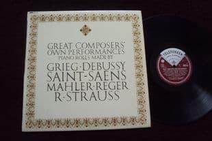 Debussy,Mahler.