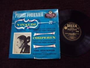 Fournier,Munchinger.Vivaldi Concerto In E Minor.LW 5196