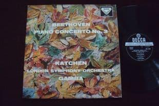 Katchen,Gamba.Beethoven Concerto No 3. SXL 2106