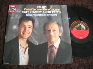 Kennedy,Previn.Walton Violin & Viola Concertos.EL 7 49628 1