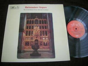 Sveshnikov.Rachmaninov Vespers.ASD 2973
