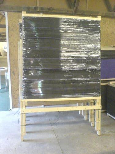 Eros Layered Foam Boss & Wooden Stand
