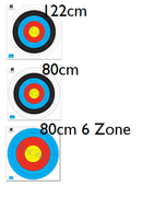 WA Approved Waterproof target faces Roll 25