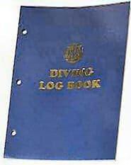 ENJAY BOOK LOGBOOK 200 DIVE LOOSE LEAF PAGES